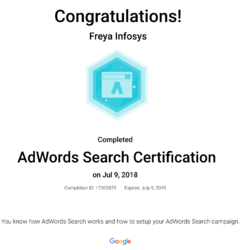 Google Adsearch Certification