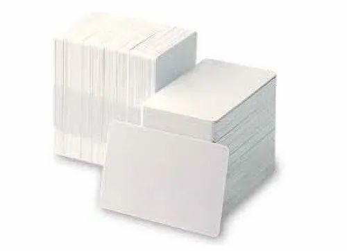 White PVC Card
