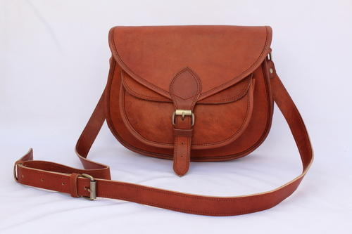 03712e519bf Natural Brown Side Bag Ladies Cross Body Bag, Rs 1600 /piece | ID ...