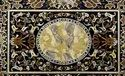 Makrana Marble Stone Inlaid Dining Table Top