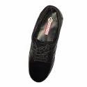 Men Black Pinnate Formal Shoes, Size: 6-9