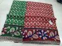 Kalamkari Cotton Saree With Blouse