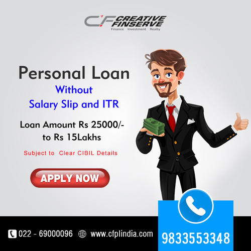 Personal Loan Unsecured Personal Loans Creative Finserve Private Limited Navi Mumbai Id 19529834530