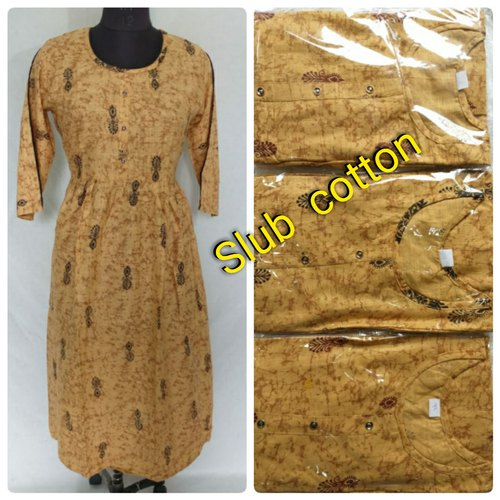 Party Wear Stitched Women Long Kurti