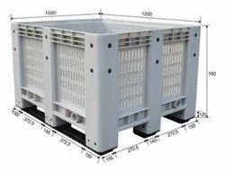 White Advance Crate Pallets, Capacity: 3 Ton
