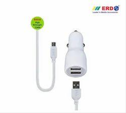 ERD CC 75 BC Dual Micro USB Car Charger