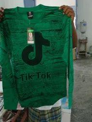 Men Printed Full Sleeve T-Shirt