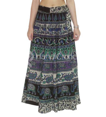c39d146e1a Women's Skirts - Indian Traditional Women Printed Skirt Exporter from Jaipur