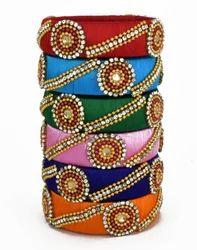 Multicolour Silk Thread Bangle