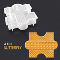 A183 Usha Butterfly Paving Mould