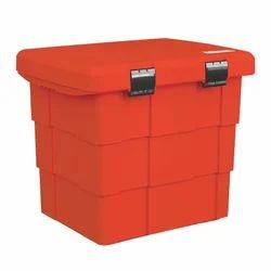 Plastic Weatherproof Fire Equipment Storage Bin, Capacity: 108 Litres