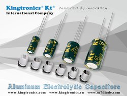 KINGTRONICS make Aluminum Electrolytic Capacitors