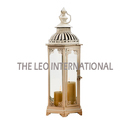 Iron Wood Color Moroccan Lantern, Battery Type: Non-rechargable