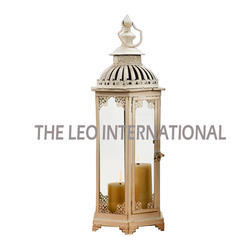 Wood Color Moroccan Lantern