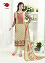 Full Sleeve Designer Silky Salwar Suit