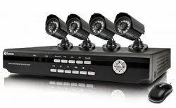 Bullet CCTV Camera KIT, Model Name/Number: DVR-4 2600