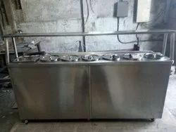 Bain Marie With Round Containers