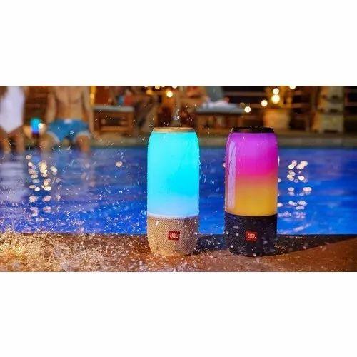 e6e54d9e6d8f85 JBL Black Pulse 3 Wireless Bluetooth Ipx7 Waterproof Speaker, Rs ...