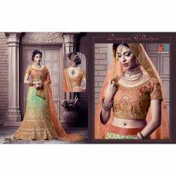 Designer Heavy Embroidery Bridal Lehengha