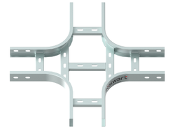 Cross (Fourway) For Ladder Cable Tray (Radius Type)