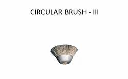 BOILER TUBE CLEANING TOOL CIRCULAR BRUSH-III
