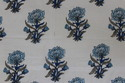 Indian Floral Hand Block Print Fabric