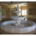 White Indoor Fountain