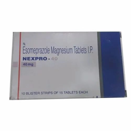 Torrent Pharma NEXPRO 40 mg Tablets IP, Packaging Type: Box, Rs 124 /unit    ID: 20697205788