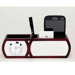 Corporate Gifts Wood Pen Stand