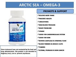Forever Arctic Sea Omega 3 Omega 9 Paty Acid