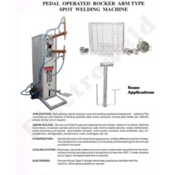 Pedal Type Spot Welding Machine