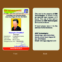 Rectangular Pvc Office Id Card