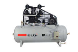 ELGi TS10 LB Oil-Lubricated Reciprocating Compressor