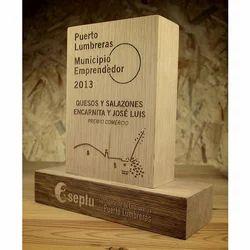 Laser Wood Trophy
