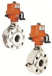 Electrical Actuator Operated 2 Way Wafer Valve