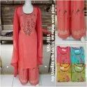 Woman Cotton Unstitched Suit