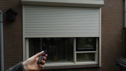 Full Height Remote Rolling Shutter