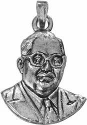 925 Silver Baba Saheb Ambedkar Pendant
