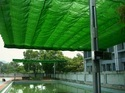 Green 100% Hdpe Wind Protection Net