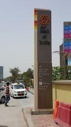 Traffic Unipole Sign