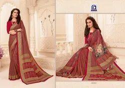 Rachna Pashmina Suraiya Catalog Saree Set For Woman