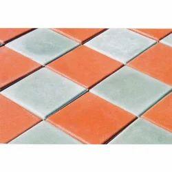 AGT Porcelain Square Shape Parking Tile, 10-60 mm