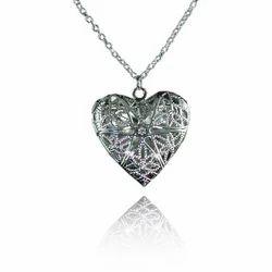 925 Sterling Silver Heart Pendant