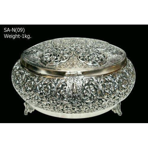 Antique Indian Silver Jewellery Box at Rs 46000 piece Antique