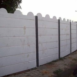 Precast Concrete Compound Boundary Wall