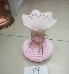 Plastic Muhil Artificial Flower Vase