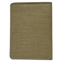 Jute File Folder With Zipper