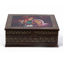 Wooden Painting Square Box