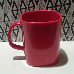 Red Melamine Mug, For Office