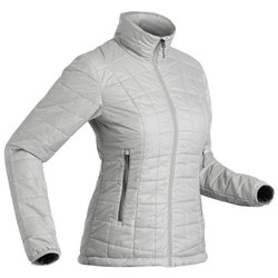 Decathlon TREK 100 - Grey Women Mountain Trekking Down Jacket